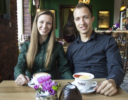 We fell in love while doing business together: Svetoslav & Eliana, TEIS Apartments