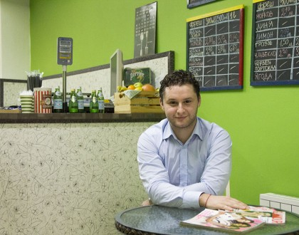 I've learnt to never put emotion into business. Stoyan, Fresh Bar Emporium