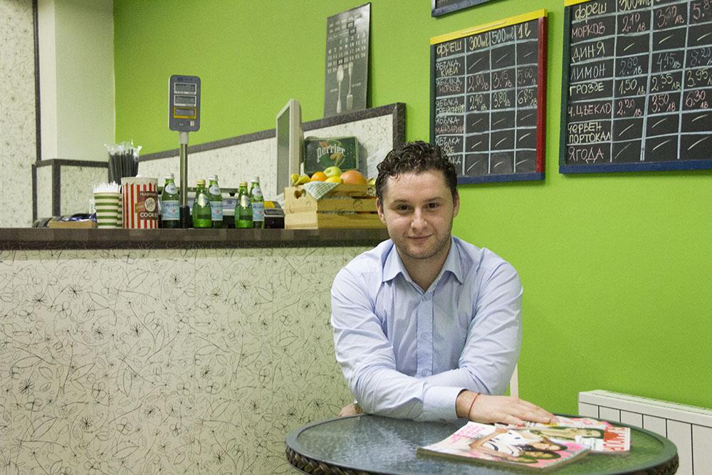 10 години съм в бизнеса и се научих да не влагам чувства: Стоян, Fresh Bar Emporium