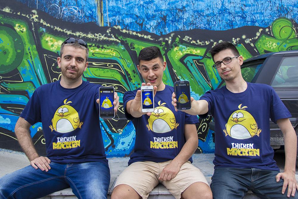 За създаването на Chicken Micken ни събра приятелството ни: Стоян, Миро & Иван